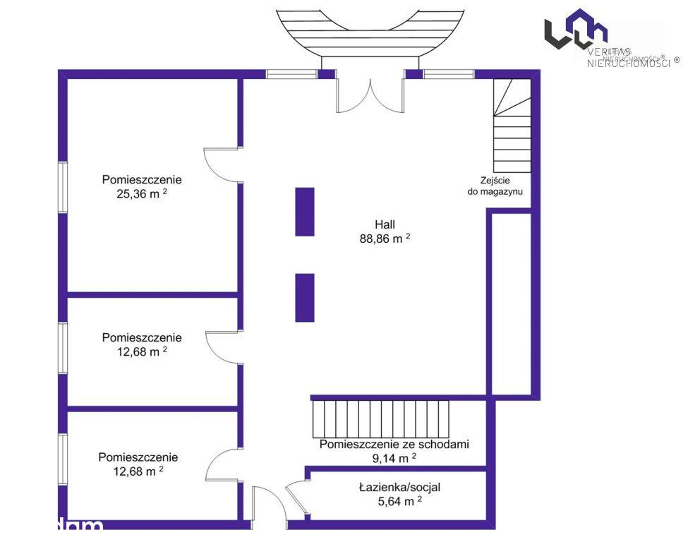 Lokal użytkowy, 185 m², Mysłowice