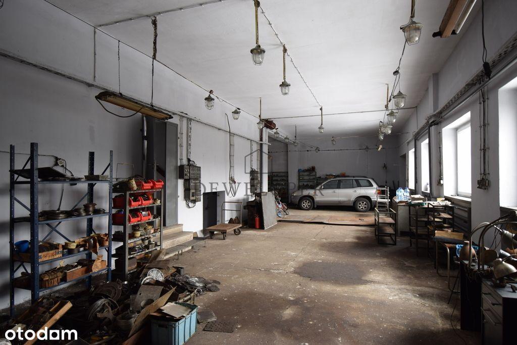 Warsztat usługowo produkcyjny 330m2 Burowiec