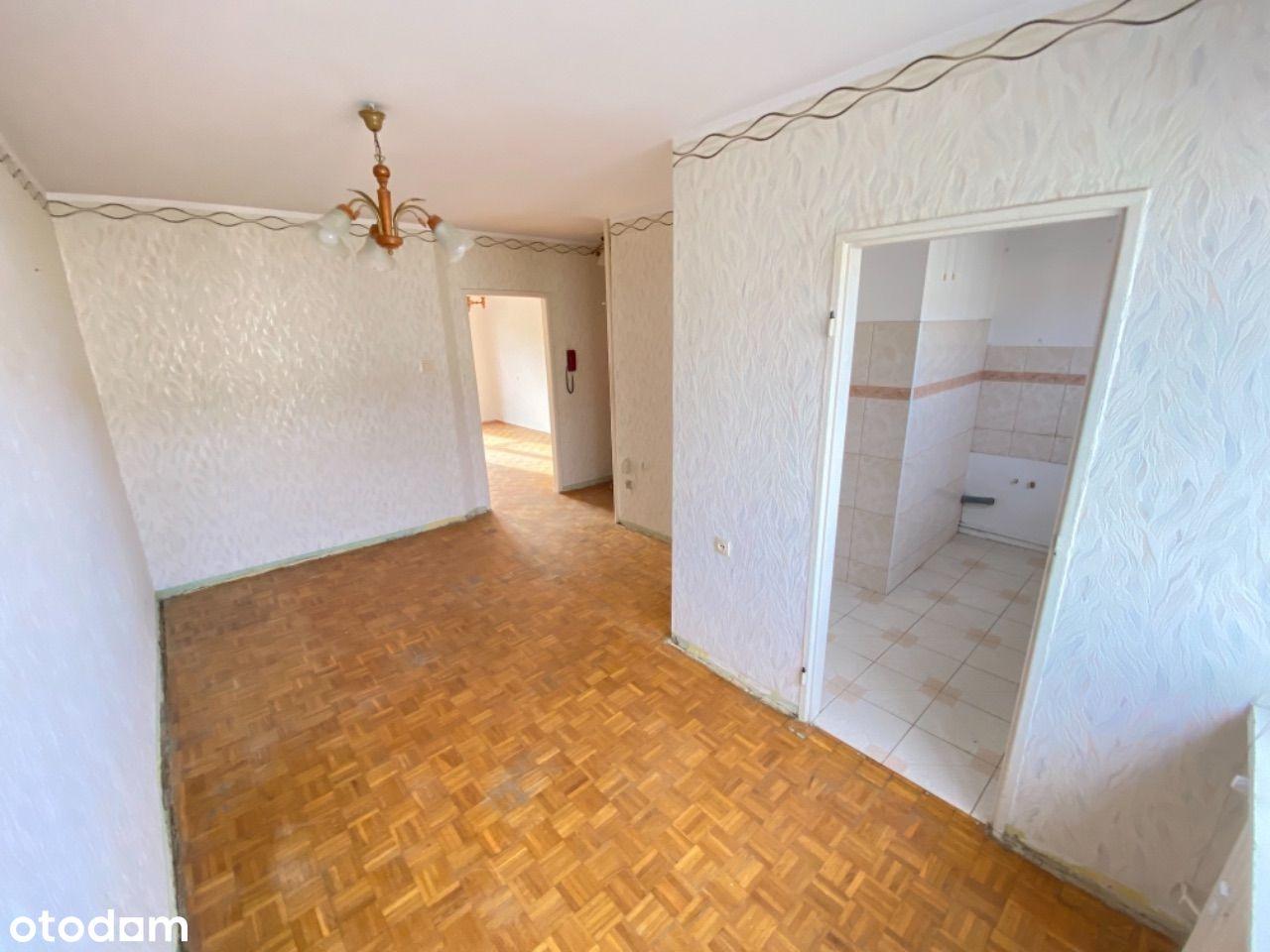 Do zamieszkania/remontu, 51m, 3 piętro, balkon