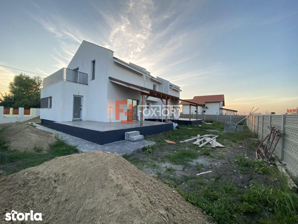 Casa in Sacalaz | proiect deosebit | doua fronturi stradale, cartier E