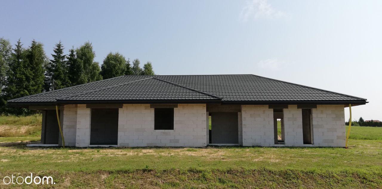 Dom parter 186 m2, działka 12 lub 21 ar, Hermanowa