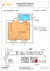 Mieszkanie nr 41 (Budynek A) SPRZEDANE