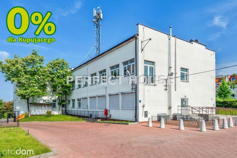 Duże biurowce w centralnej części Elbląga