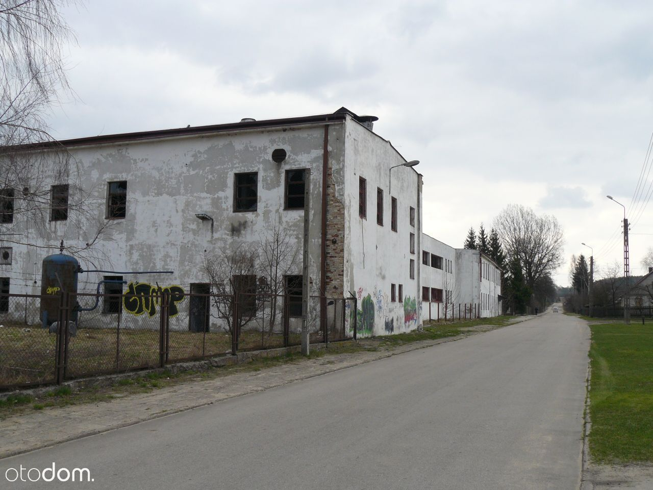 Nieruchomość przemysłowa Krynki