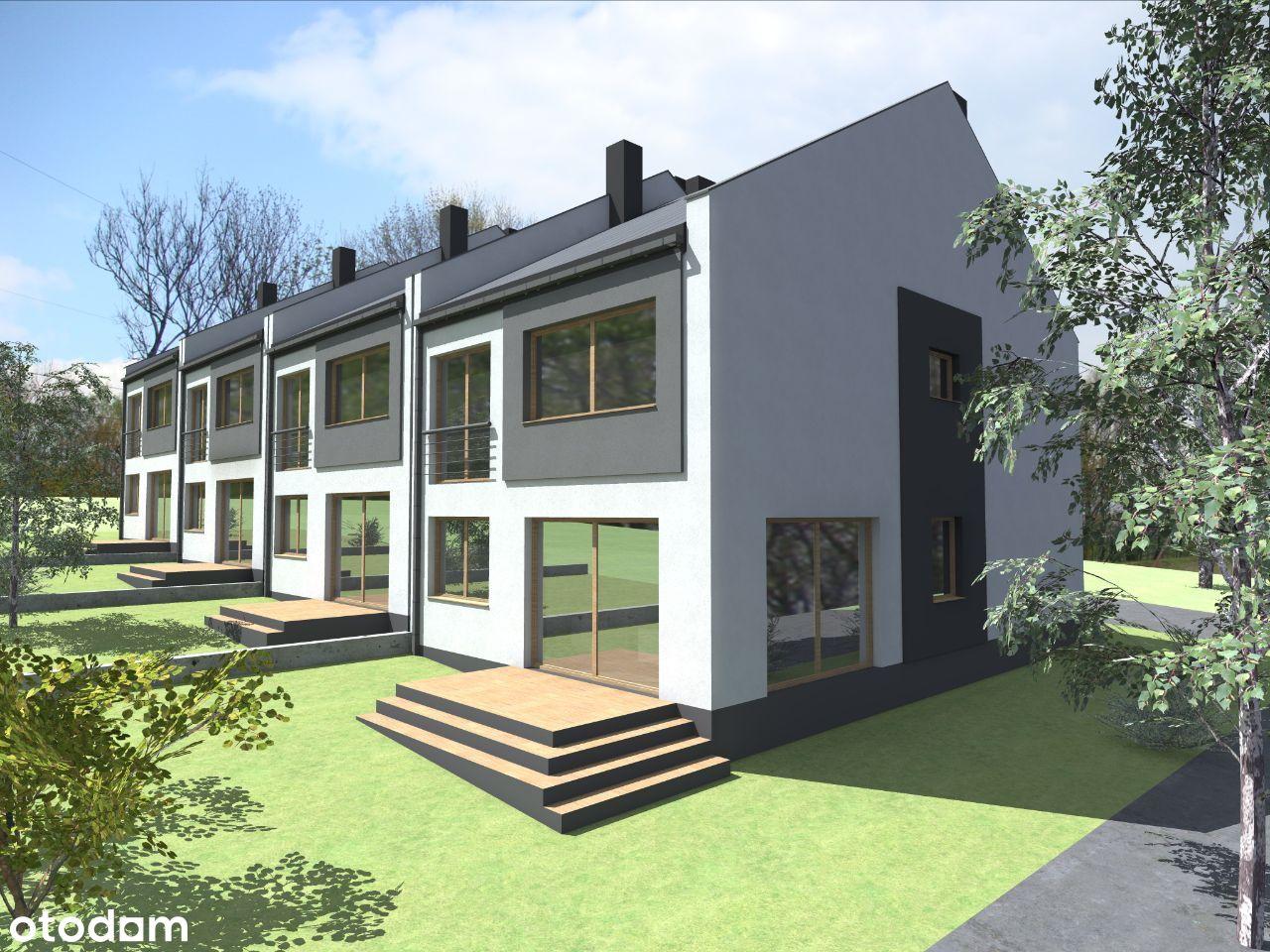 Domy jednorodzinne w zabudowie szeregowej