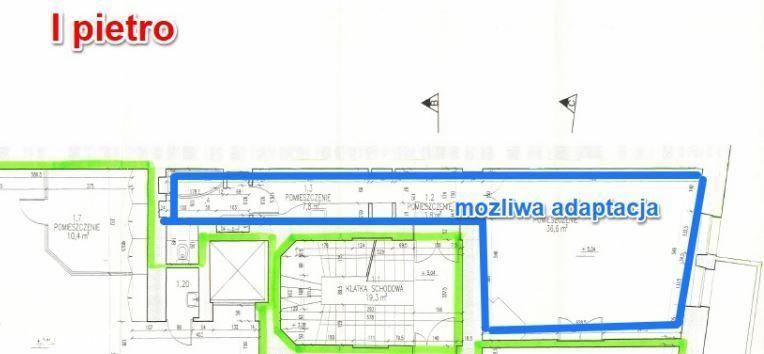 Śródmieście, Karmelicka, 55 m2 - lokal biurowy