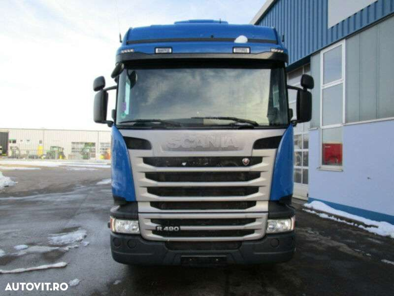 Scania R 490 Highline Cr19 Euro6 Nebenantrieb Retarder - 4