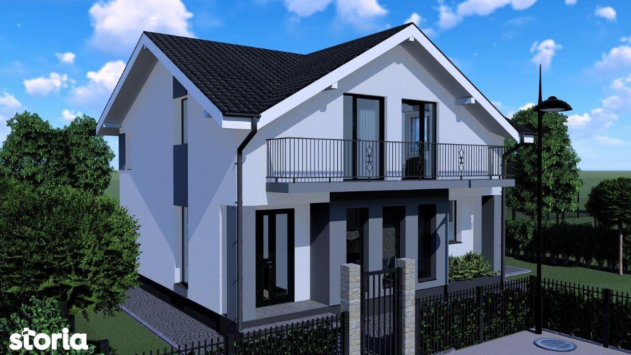 Casa tip duplex, 4 camere,120 Mp,teren 250 mp,in Unirii