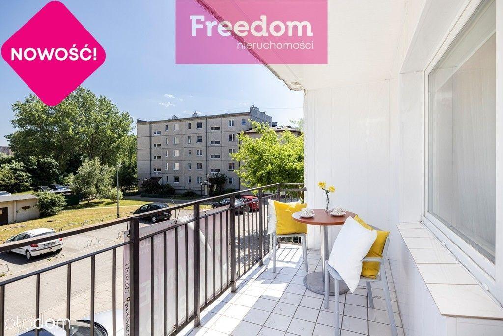 3 pokoje, przestronna kuchnia z jadalnią, balkon