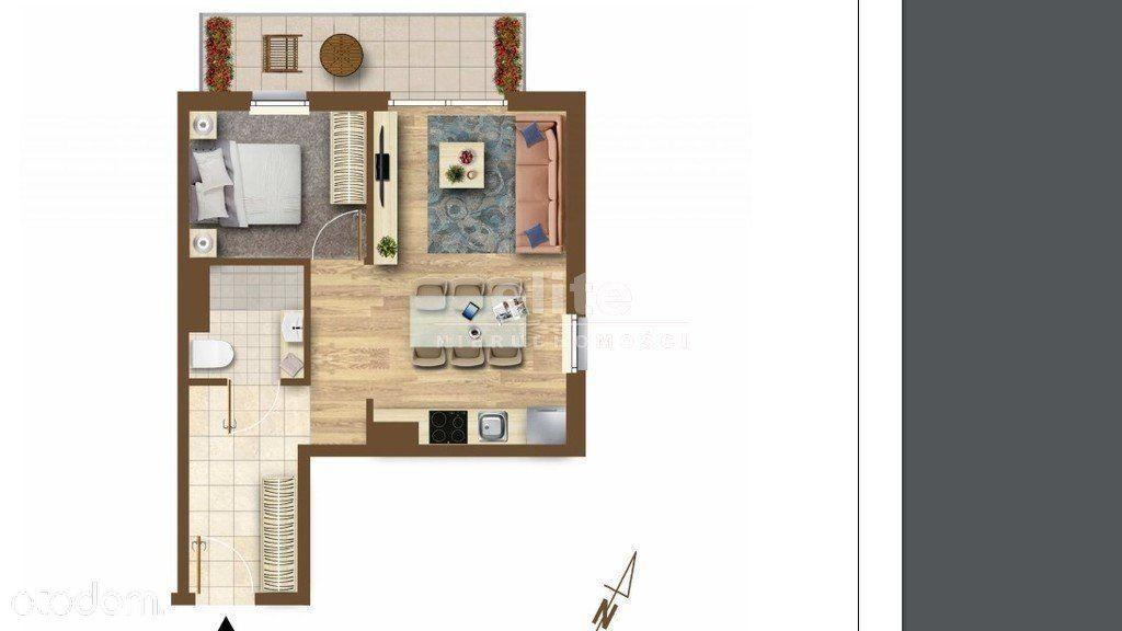 Mieszkanie, 38,98 m², Szczecin