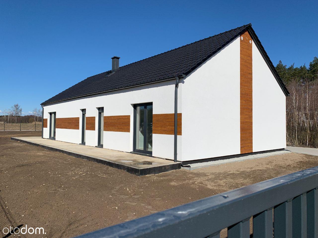 nowy nowoczesny dom w cichej okolicy Zakrzewko