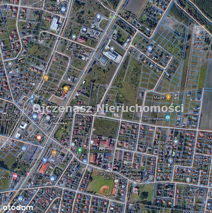 Działka, 1 800 m², Osielsko