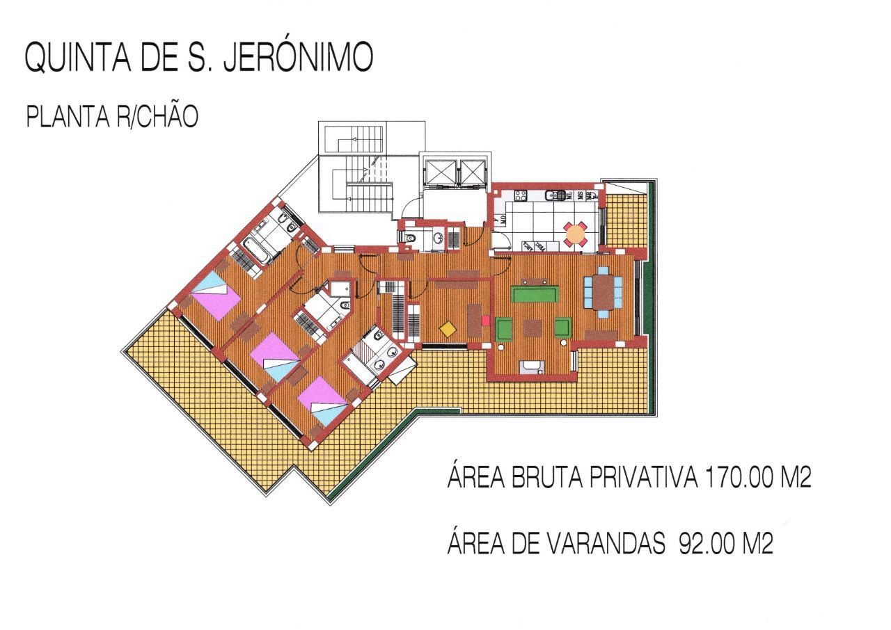 Apartamento T4 na Quinta de São Jerónimo, Coimbra