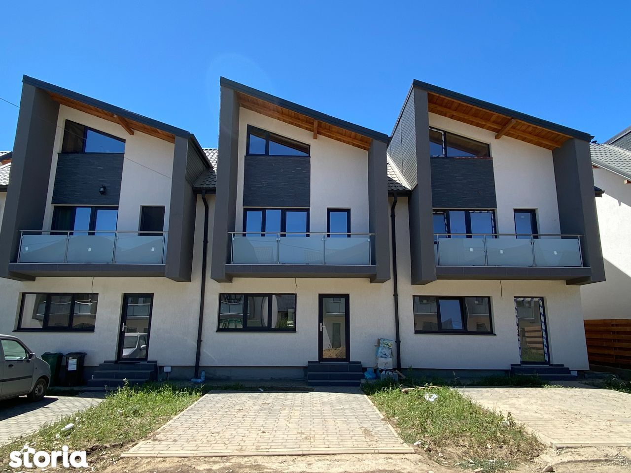 Placa+scari beton!CANALIZARE!Vila 3 camere,Valea Adanca (Miroslava)