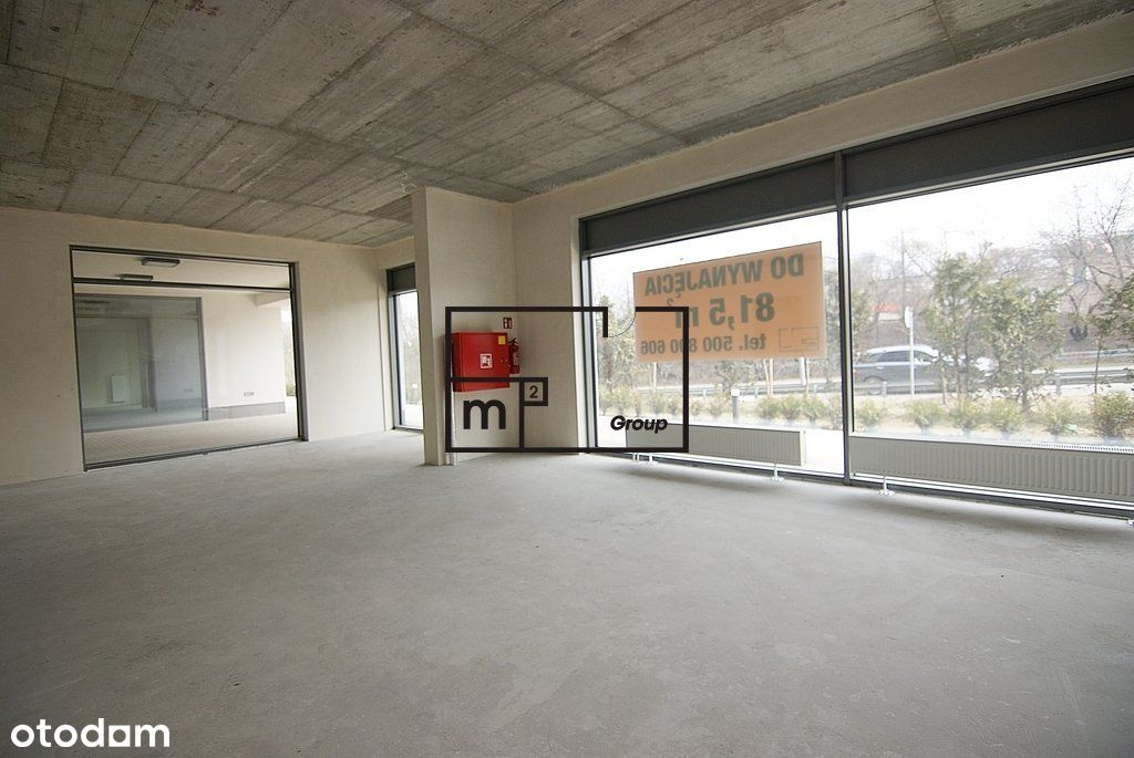 Lokal użytkowy, 81,50 m², Warszawa