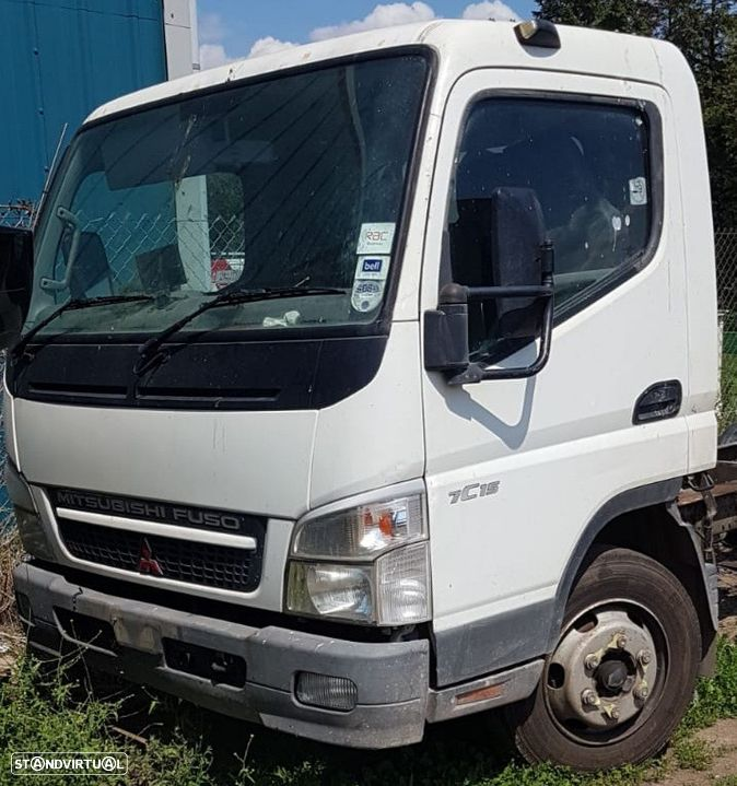 Mitsubishi  fuso canter 7C15 2008 , 4M42-3AT common rail - 1