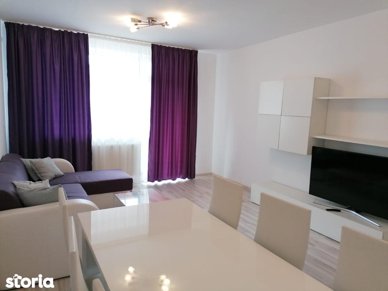 Apartament mobilat 3 camere