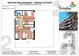 Mieszkanie A2.M03 Poznań Śródka OdNowa 2