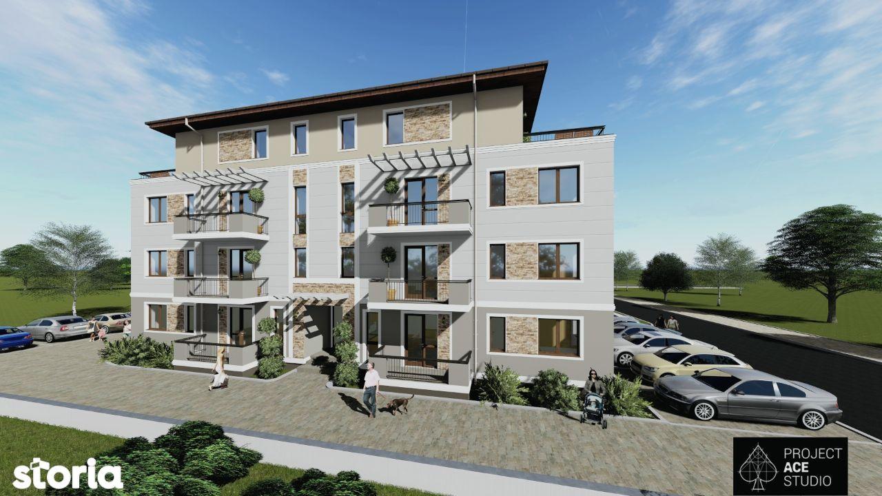 Autorizatie de constructie la zi, 12 apartamente, Braytim