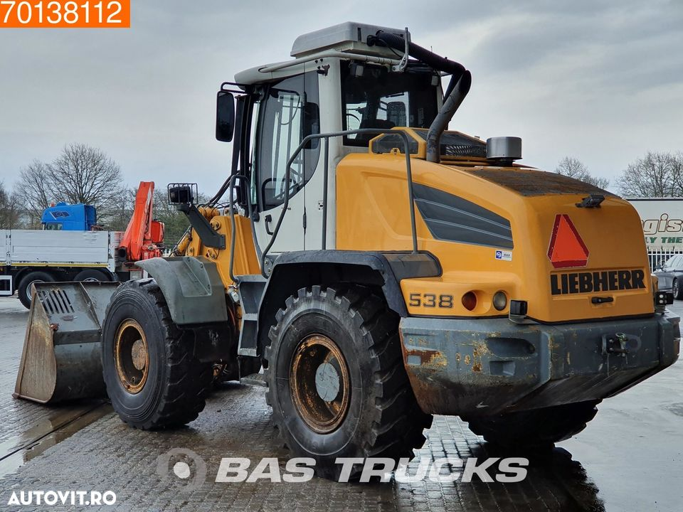 Liebherr L538 SERVICE HISTORY AVAILABLE - ASK SALES - 2