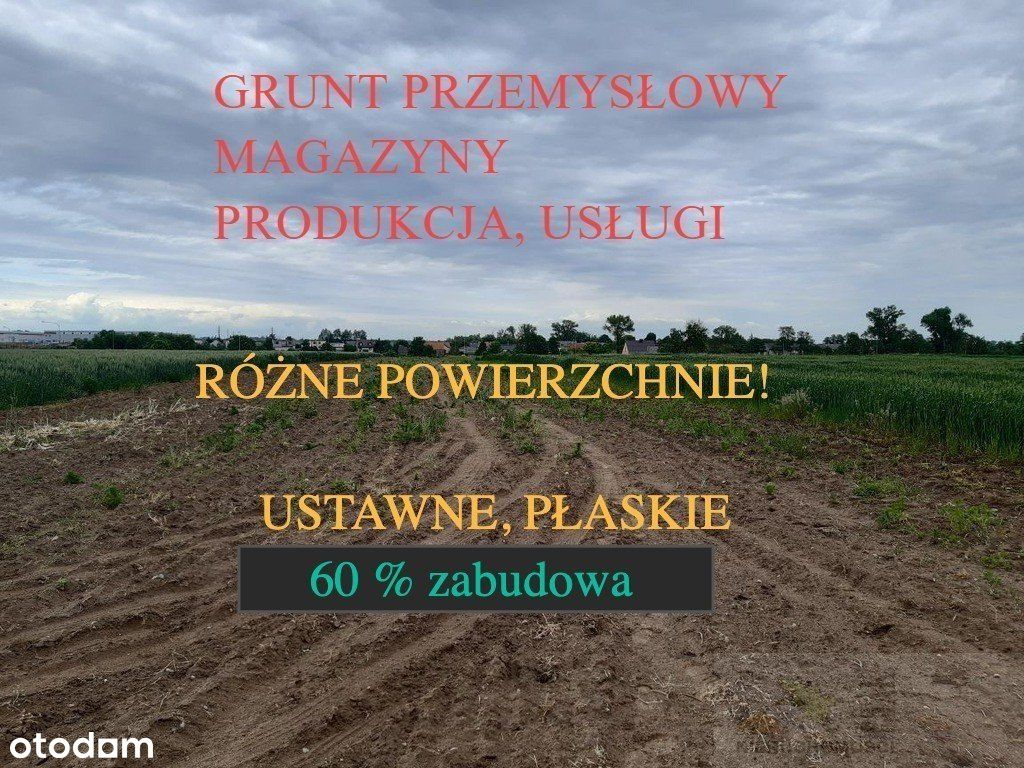 Ag-Magazyn/Prod/Usługi/Biuro Plan Miejscowy!