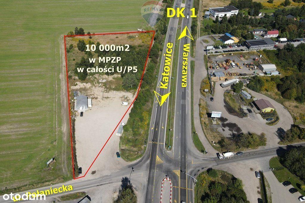 1 hektar na skrzyżowaniu A1 i Dk1