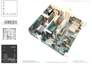 Nowomiejska - Mieszkania wyższego piętra...
