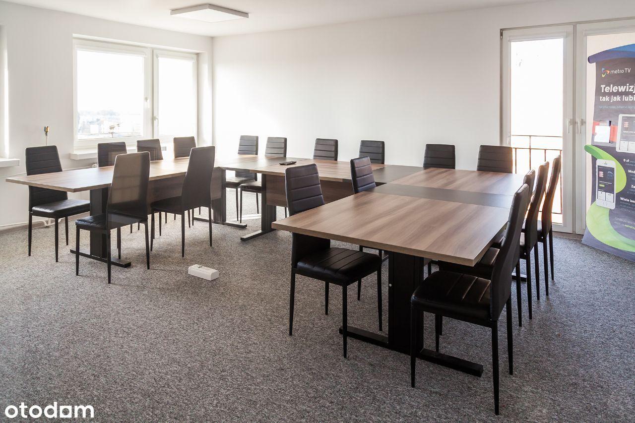 Klimatyzowany lokal w biurowcu na Bałutach