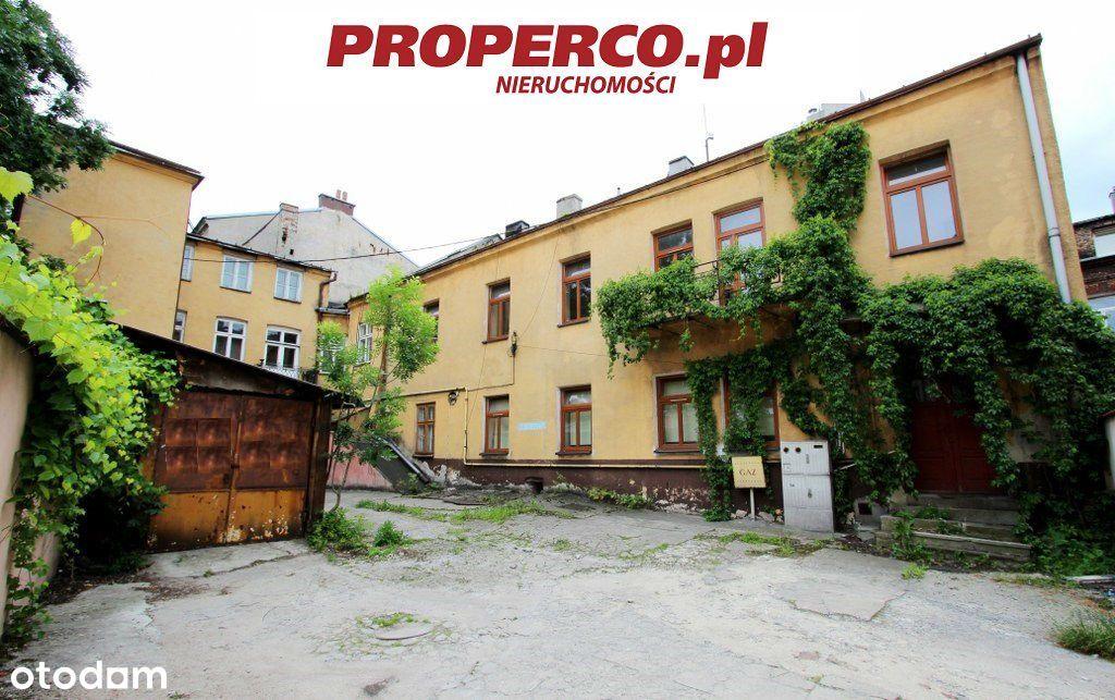 Kamienica 950 m2, centrum Kielc na działce 533m2
