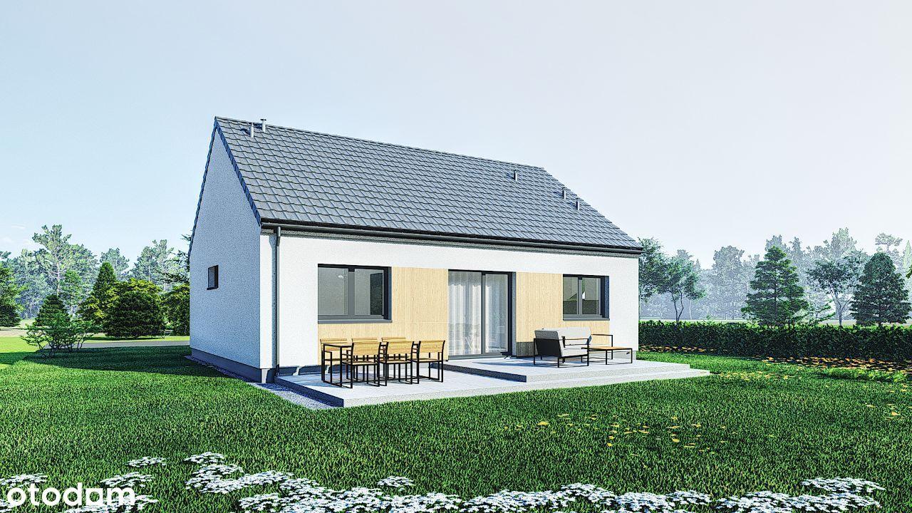 Dom 75 m2 Nowe Oborzyska k/Kościana