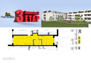 Mieszkanie 2 pokoje 37,97 m2 z balkonem; 3C 103