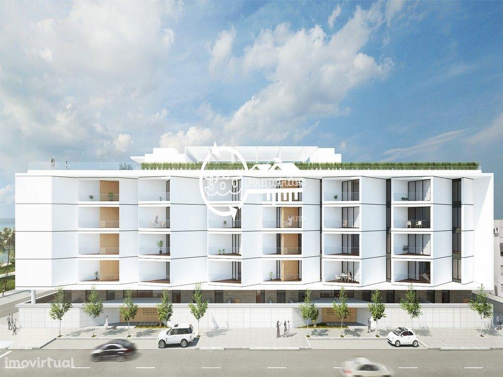 Apartamentos T2+1 de luxo com piscina e garagem em Olhão