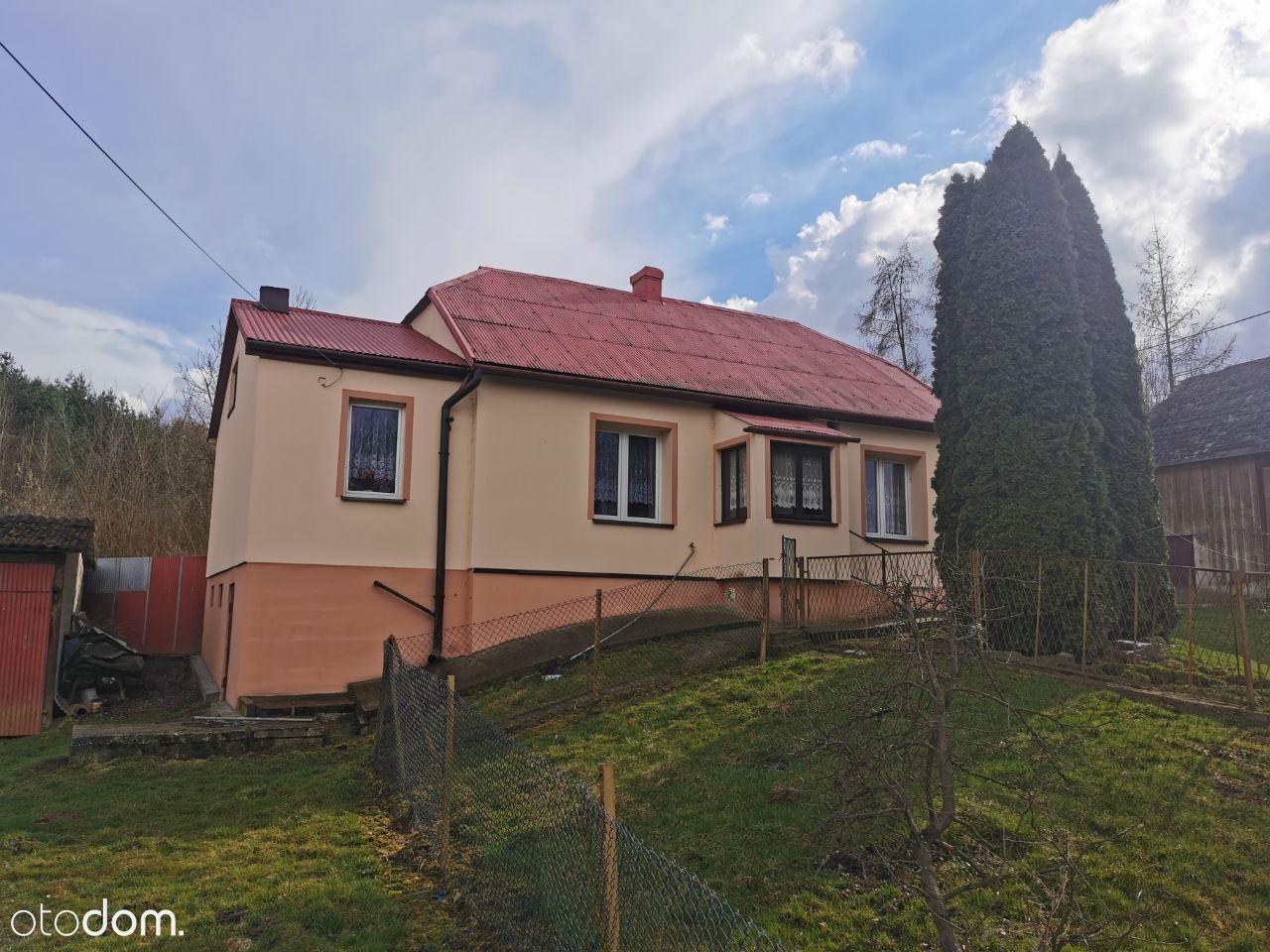 Dom parterowy, działka 40 arów w Śladów, Miechów