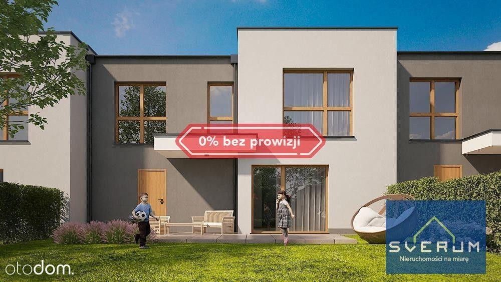 Nowy dom w zabudowie szeregowej Parkitka