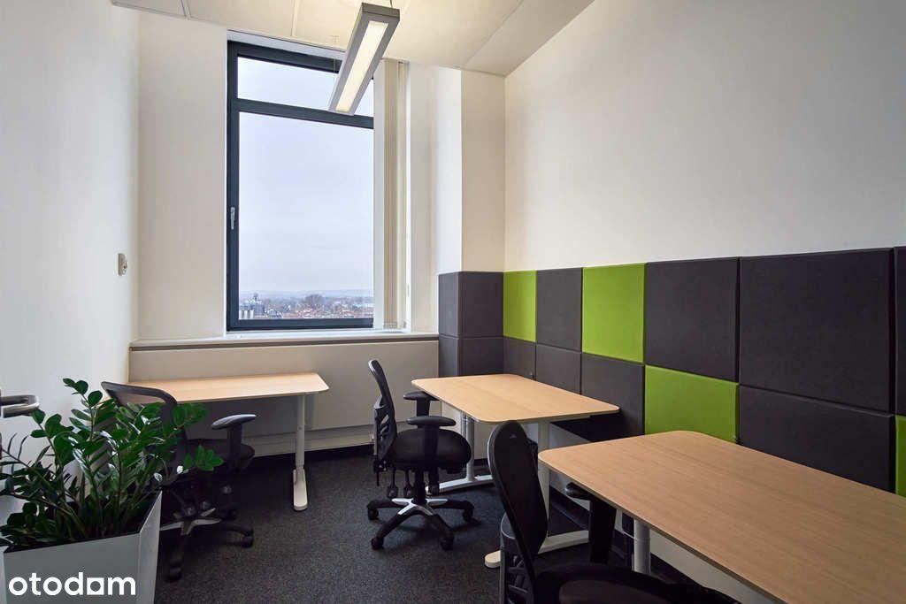 Wykończone biuro dla małego zespołu. Krótka umowa