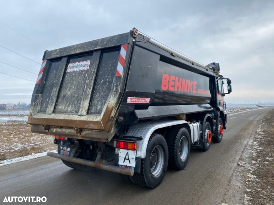 Iveco 8x4 man Iveco DAF - 10