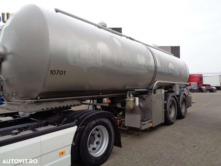 Trailor Milk/Water tank 2 COMP + 2 AXLE + ADR+25000liter - 1