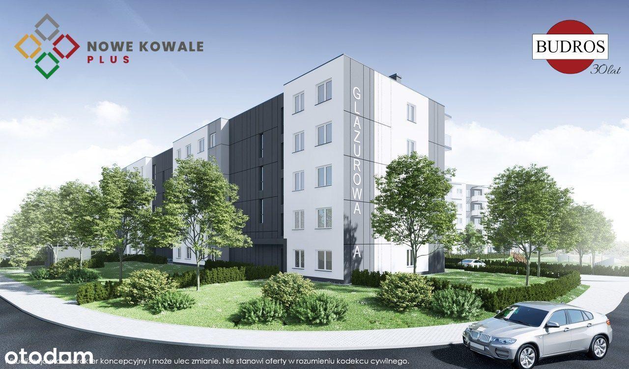 Mieszkanie E5, Nowe Kowale Plus, Glazurowa 43.81m2