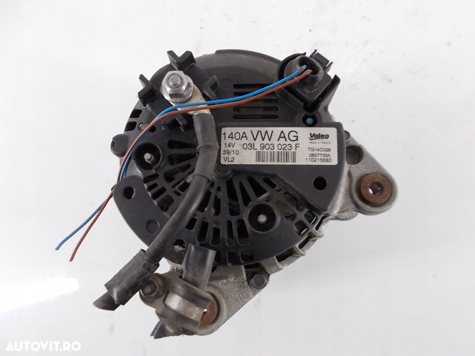 Alternator VW Golf 6 cabrio 1.6 tdI 03L903023F 2009 - 2014 - 3