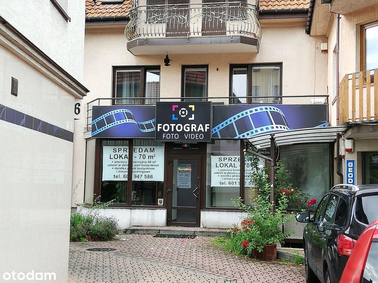 Sprzedam lokal w centrum Myślenic 70m + parking