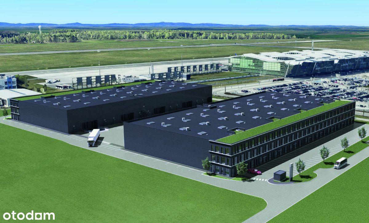 Nowoczesne hale blisko lotniska