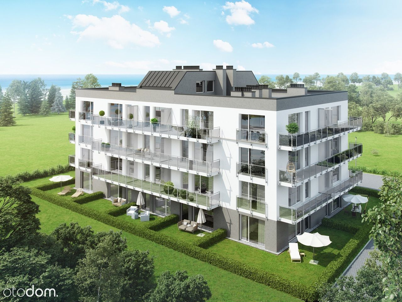 Gąski 100m od morza- Apartament 36,5m2