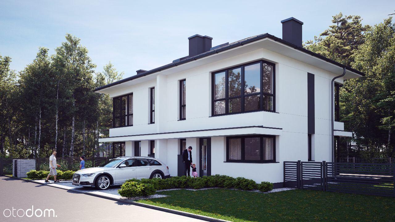 DOM 11/A ŁOMIANKI WIŚLANA 88,58 m2 działka 370m2