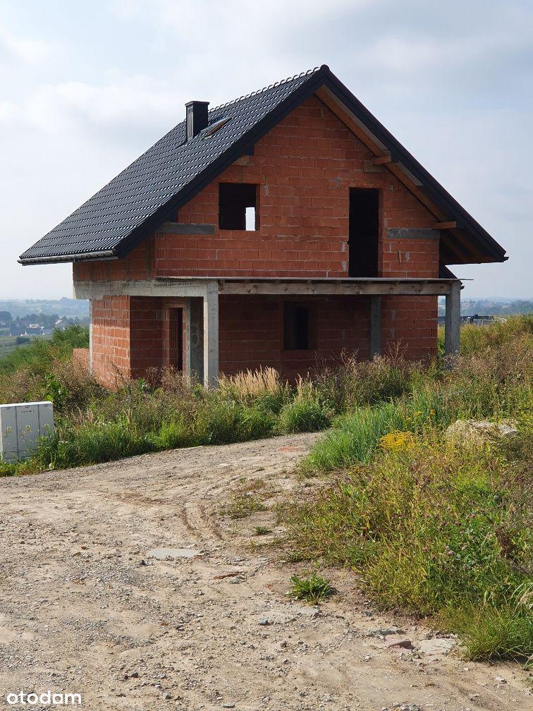 Kocmyrzów dom z widokiem na góry