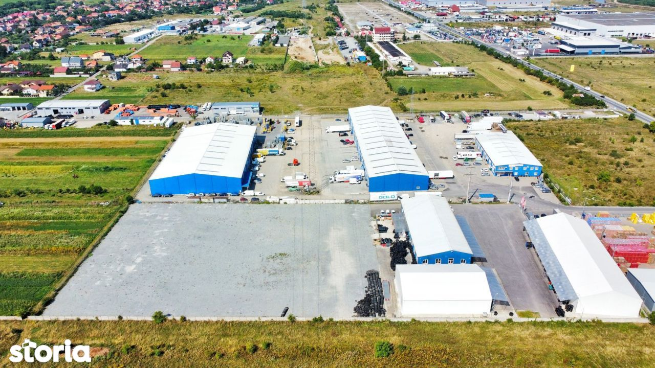 Spatiu Industrial/Hala -Zona Autostrazii A3- 800 mp