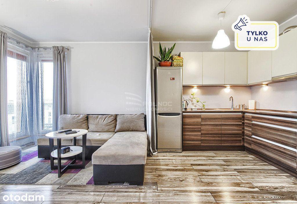 Przestronne 2 pokojowe mieszkanie Gdańsk Maćkowy