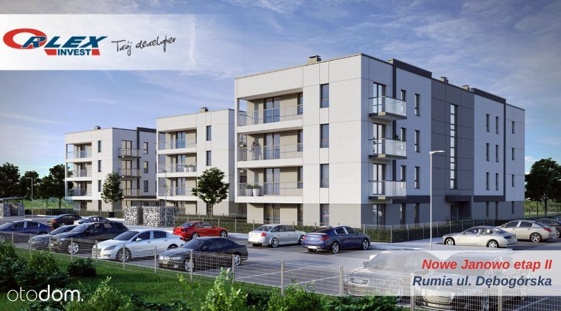 Nowe Janowo II, winda, ogródek Orlex Invest
