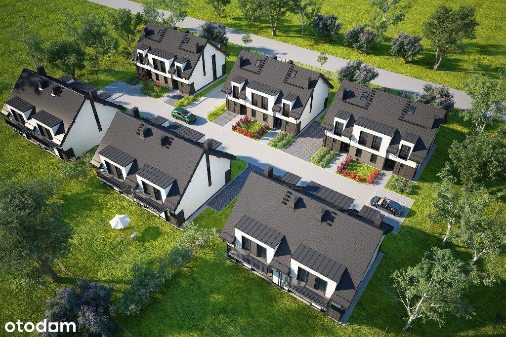 Dom bliźniak w inwestycji Zielony Zakątek   M2