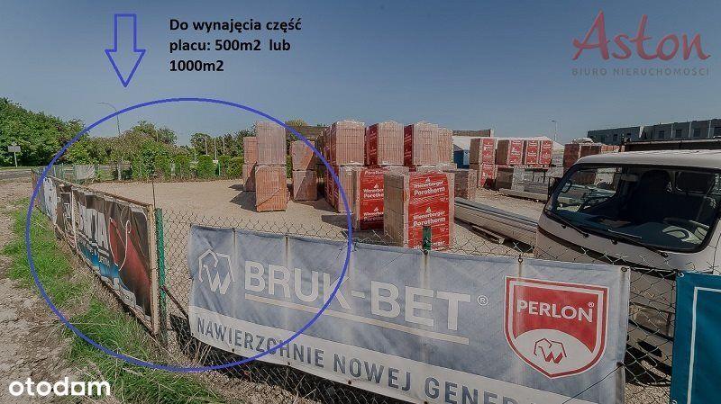 ul. Oświęcimska, działka+biuro/hala