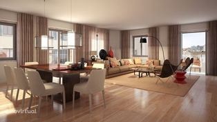 Apartamento T3 novo em condomínio fechado